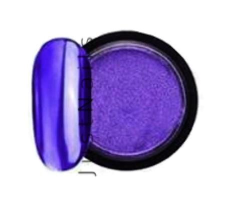 JUSTNAILS Mirror-Glow Nagel Pigment - Purple Sea