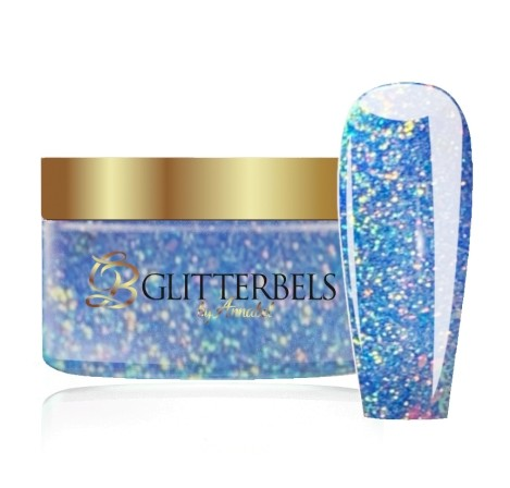 GLITTERBELS SEA FOAM CRUSH