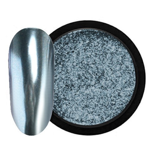 JUSTNAILS Mirror-Glow Nagel Pigment - Second Date