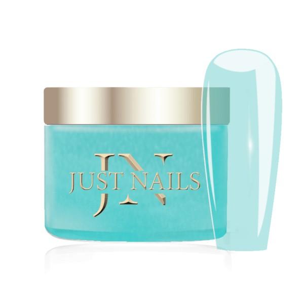 JUSTNAILS Premium Acryl Pulver - TRANSP. SEA DAZE 12g