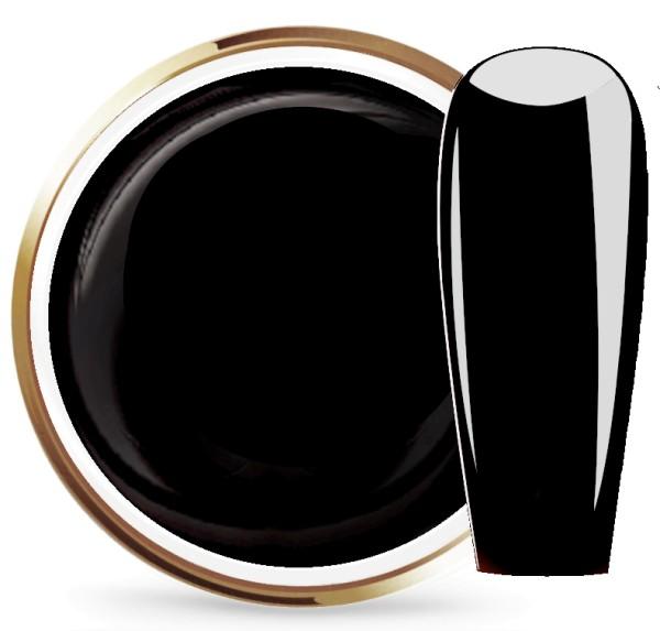 JUSTNAILS Farbgel Premium Black