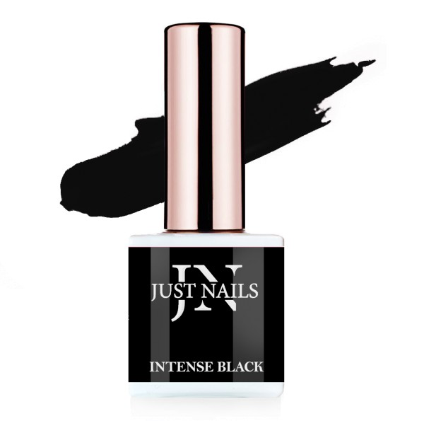 JUSTNAILS Flexi Colour - Intense Black - Polish Shellac Soak-off Gel 12ml