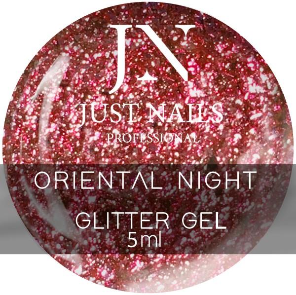 JUSTNAILS Farbgel Oriental Night - Chrome Effect Gel