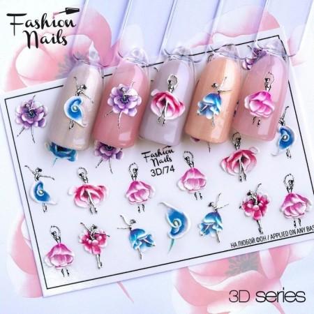 3D/74 Wraps Fashionnails
