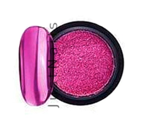 JUSTNAILS Mirror-Glow Nagel Pigment - Orchid Berry