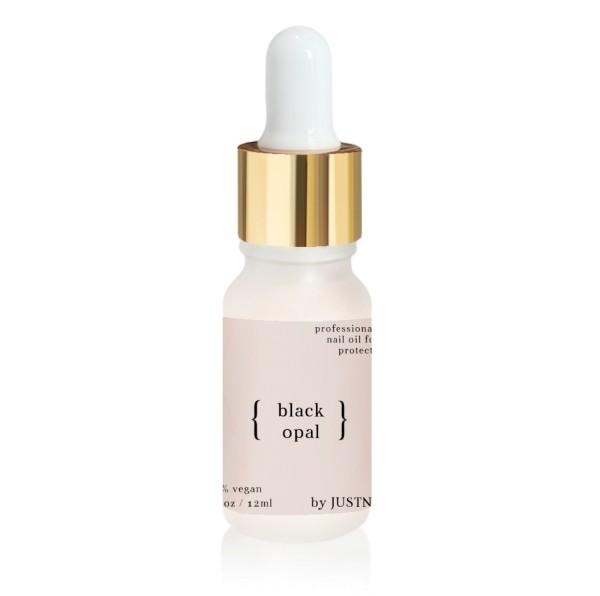 JUSTNAILS Premium Protect Nail Oil - Black Opal 10ml